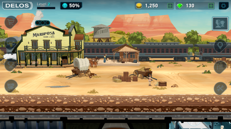mariposa saloon westworld game