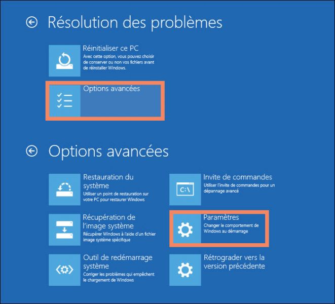 Restauration Systeme Windows  Mode Sans Echec