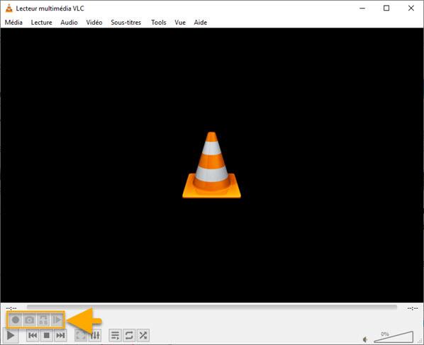 VLC contrôles avancés