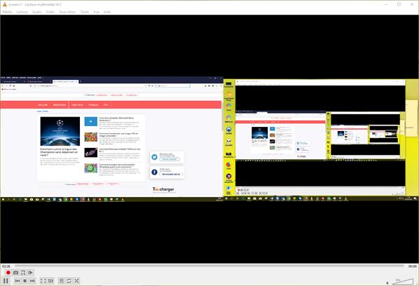Enregistrer écran avec VLC