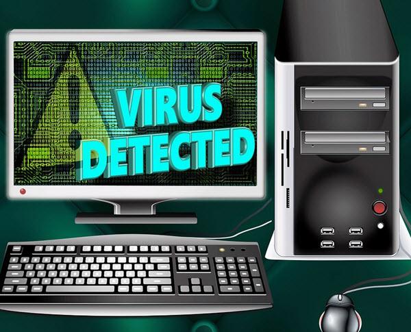 COMMENT SE PROTÉGER FACE AUX MALWARES ? Virus%20Detected-screen