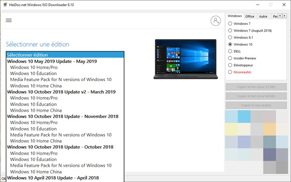 Windows 10 May Update ISO Downloader