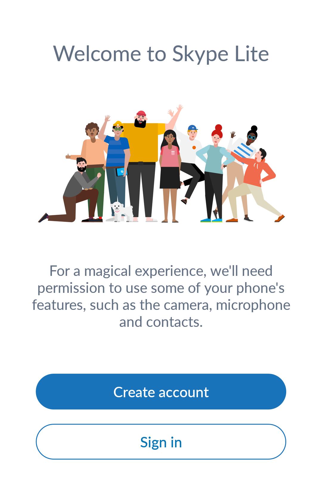 micro skype marché pas